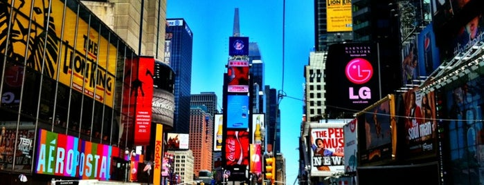Times Square is one of ★ [ New York ] ★.