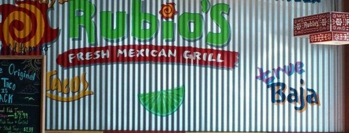 Rubio's is one of BLee's Favorite Food.