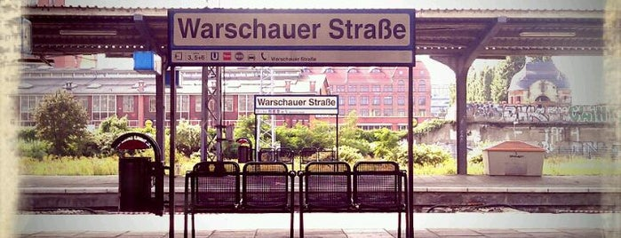 S Warschauer Straße is one of Berlin And More.