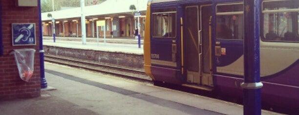 Altrincham Railway Station (ALT) is one of Train Trip.