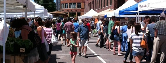 South End Open Market @ Ink Block is one of Nearby Neighborhoods: The South End.