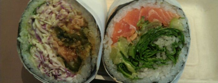 Sushirrito is one of Kick-A$$ To Do List in SF.