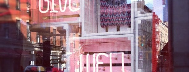 """Madewell is one of Our """"Young Guns"""" Favorite Shops in NYC."""