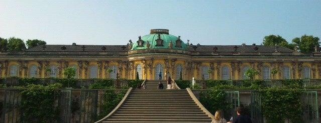 Schloss Sanssouci is one of Berlin / Germany.