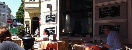 Café Strozzi is one of Vienna Calling.