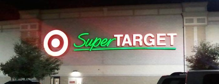 SuperTarget is one of SARA! MICHELLE! TEXAS! All good things here...