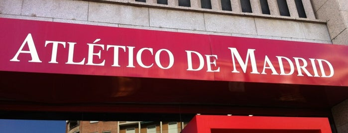 Tienda Oficial Atlético de Madrid is one of Dieter's favourite spots in Madrid.