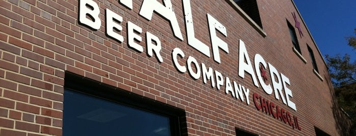 Half Acre Beer Company is one of 2013 Chicago Craft Beer Week venues.