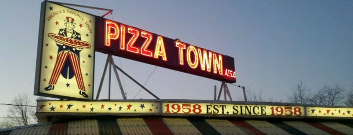Pizza Town USA is one of NJ To Do.