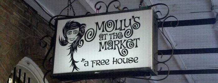 Molly's at the Market is one of New Orleans To-Do List.