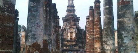 Wat Mahathat is one of Sukhotai.