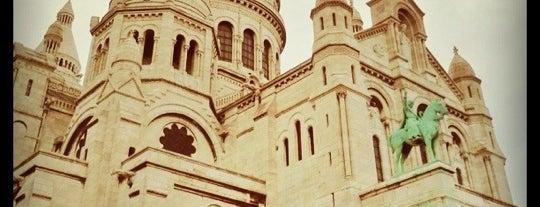 Sacré-Cœur Basilica is one of Paris.