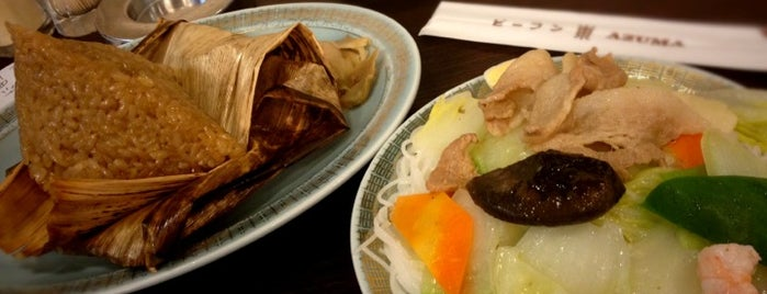 Bee Hoon Azuma is one of favorite places♪.