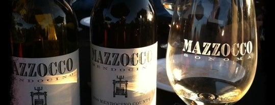 Mazzocco Winery is one of Wine Road Picnicking- al Fresco Perfetto!.