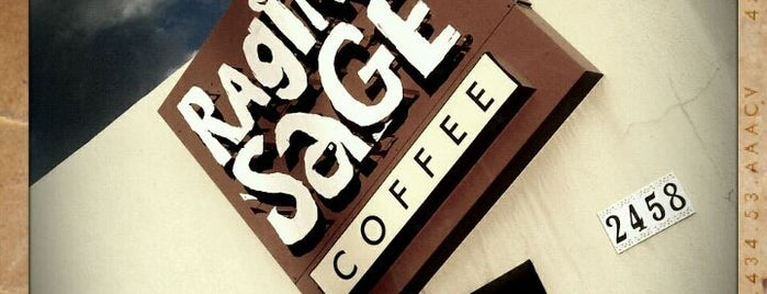 Raging Sage Coffee Roasters is one of My Faves.