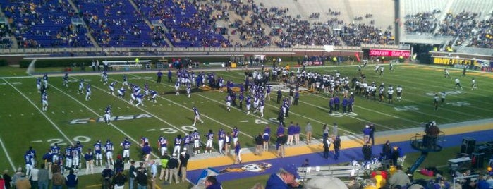 Dowdy-Ficklen Stadium is one of Great Sport Locations Across United States.