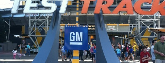 Test Track Presented by Chevrolet is one of Florida Trip '12.