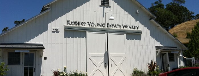Robert Young Estate Winery is one of Cool Wine Road Caves & Undergrounds.