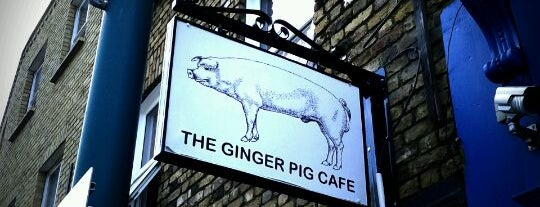 The Ginger Pig Café is one of My favorit brunch places.