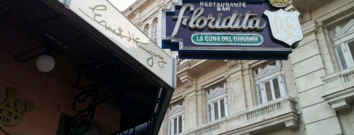 Restaurante Floridita is one of Approved Pubs.