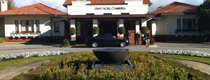 Hyatt Hotel Canberra - A Park Hyatt Hotel is one of Canberra.