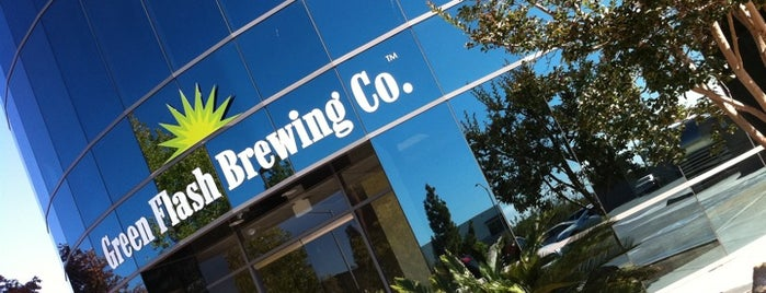 Green Flash Brewing Company is one of Beer / RateBeer's Top 100 Brewers [2015].