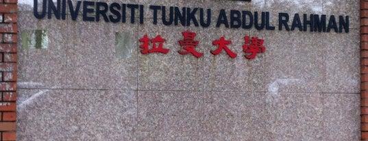 Universiti Tunku Abdul Rahman (UTAR) is one of Learning Centers,MY #5.