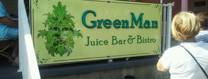 GreenMan Juice Bar & Bistro is one of Guide to Rehoboth Beach's best spots.