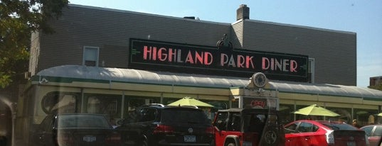 Highland Park Diner is one of Roc.