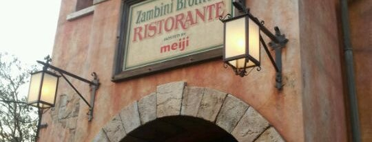 Zambini Brothers' Ristorante is one of Disney.