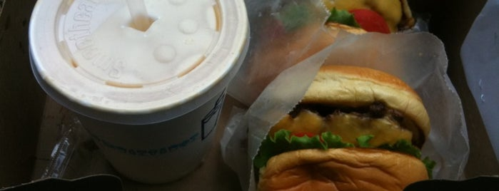 Shake Shack is one of Dessert Stops.