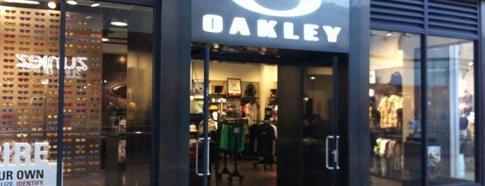 Oakley is one of Oakley Stores.