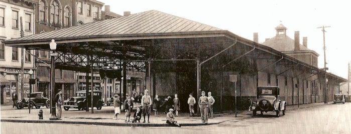 Findlay Market is one of Surviving Historic Buildings in Cincinnati.