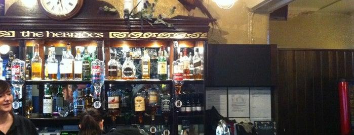 The Hebrides Bar is one of Edinburgh.