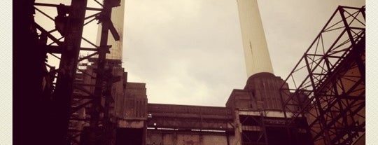 Battersea Power Station is one of (anything) in London.