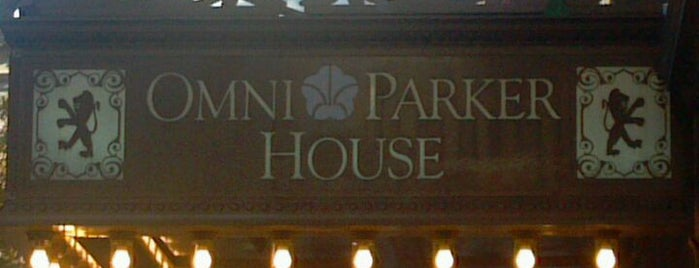 Omni Parker House is one of Hotels and Resorts.