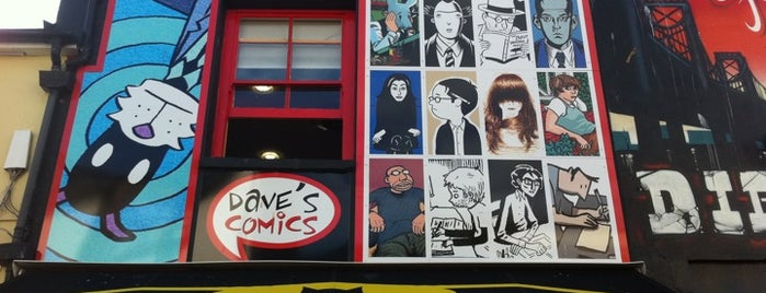 Dave's Comics is one of Dog Friendly Brighton.