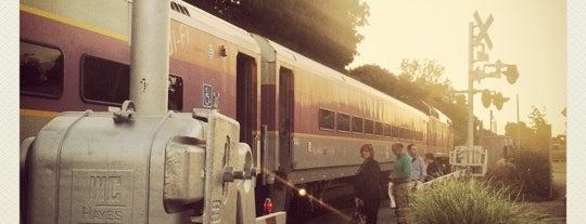 Train Stations-Andover to Boston