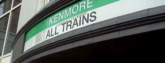 MBTA Kenmore Station is one of Boston MBTA Stations.