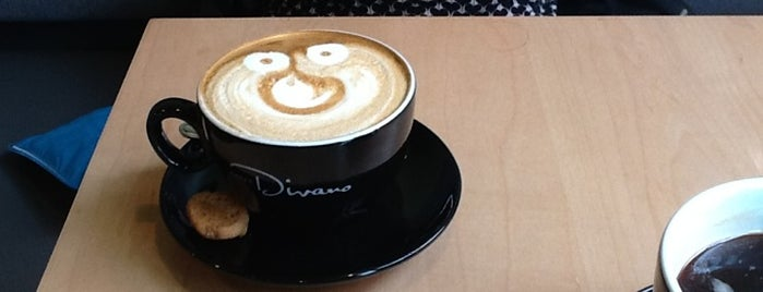 Caffé Divano is one of World Coffee Places.