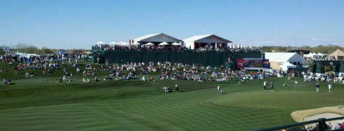 TPC Scottsdale is one of USA 2012.