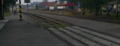 Železniční stanice Příbor is one of Železniční stanice ČR: P (9/14).