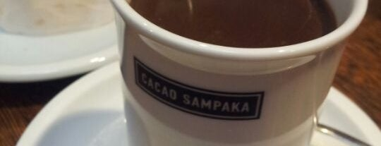 Cacao Sampaka is one of Breakfast and nice cafes in Barcelona.