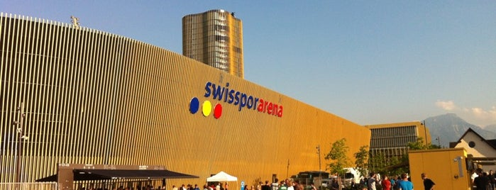 Swisspor Arena is one of Jopps Favorites.