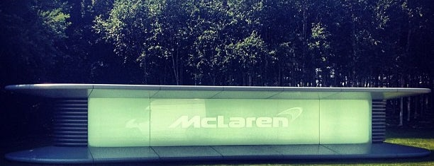 McLaren Technology Centre is one of Architecture Highlights.