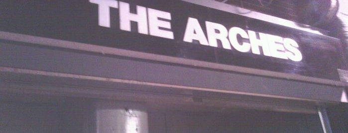 The Arches is one of Glasgow I was there.