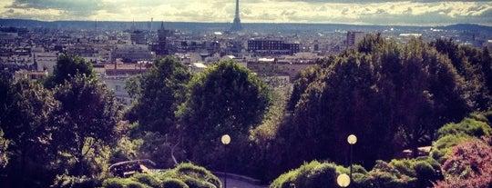 Parc de Belleville is one of Paris.