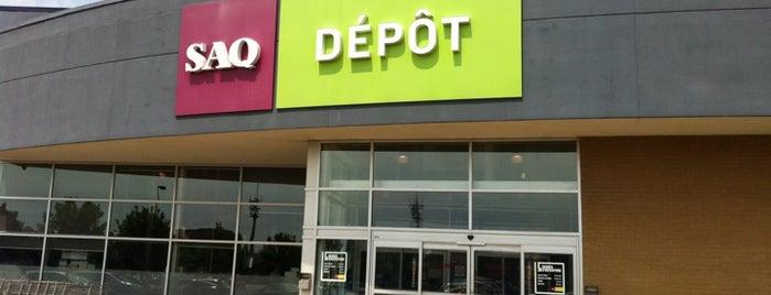 SAQ Dépôt is one of Guide to Montréal's best spots.