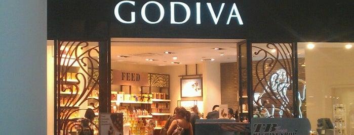 Godiva Chocolatier is one of Tiendas en PLAZA.
