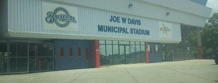Joe W. Davis Municipal Stadium is one of Favorite Places.